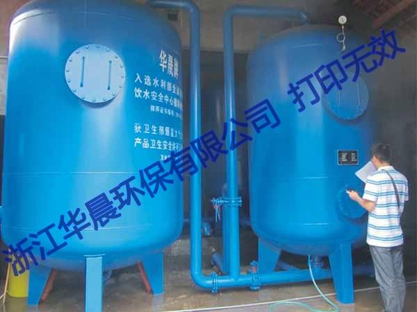 吴中全自动压力式一体化净水设备