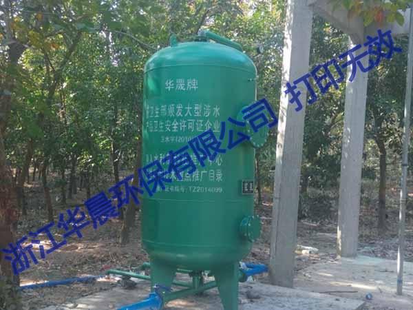 吴中压力式一体化净水设备
