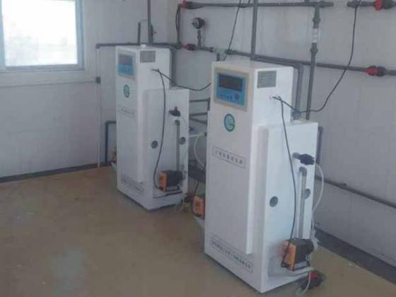 二氧化氯发生器净水设备