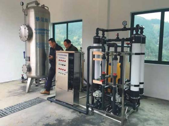 农村全自动净水设备