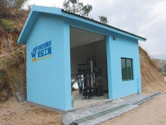农村全自动一体化净水设备