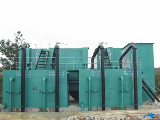 一体化净水设备安装