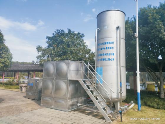 集成膜一体化净水设备